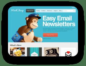 SimpleCard integrato con Mailchimp