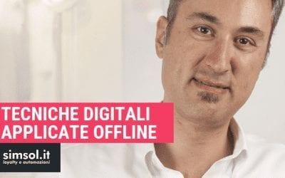 Tecniche digitali applicate offline
