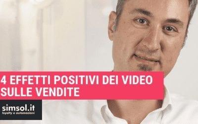 4 effetti positivi dei video sulle vendite
